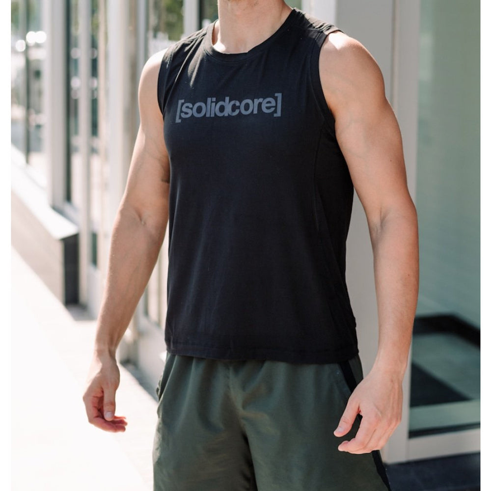 Men's [solidcore] Tank - Black