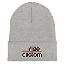 Load image into Gallery viewer, Ride Custom Cuffed Beanie (Multiple Colors)