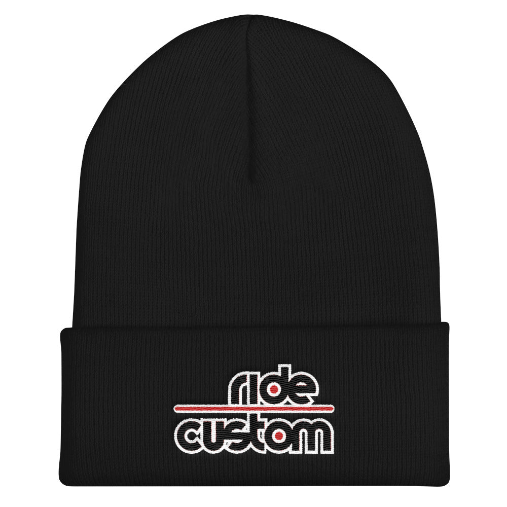 Ride Custom Cuffed Beanie (Multiple Colors)