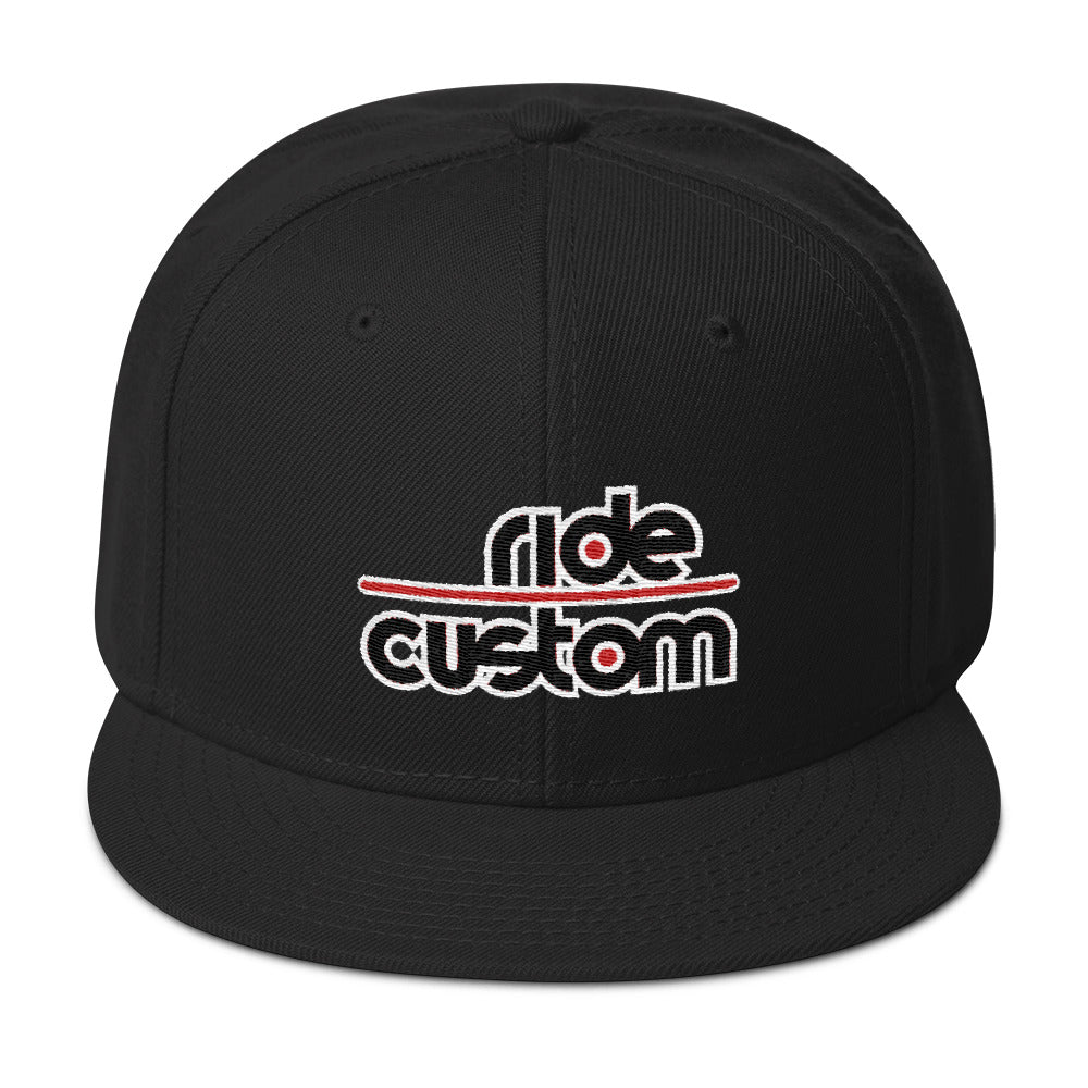 Ride Custom Snapback Hat