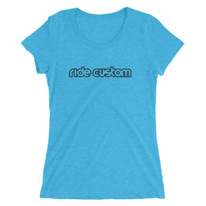 Ride Custom Bar Ladies' Short Sleeve T-shirt (Multiple Colors)