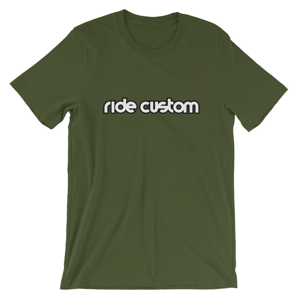 Ride Custom Bar Short-Sleeve Unisex Premium T-Shirt (Multiple Colors)