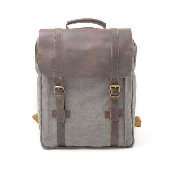 Metro 13 Inch Washed Canvas Backpack