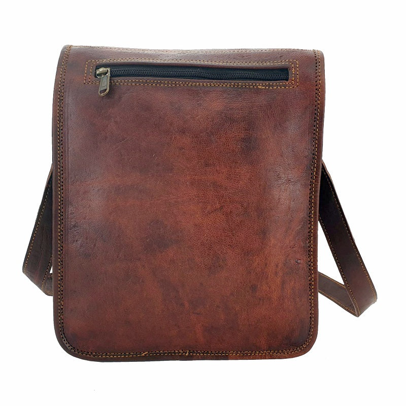 "Navigator 11"" Full Grain Leather Transit Bag - The Leather Trading Co."