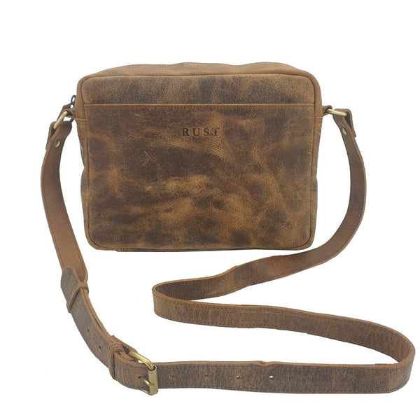 TRAIL LANDSCAPE BUFFALO HIDE EVERYDAY CARRY BAG