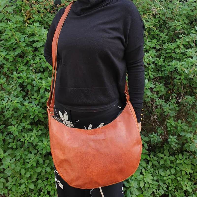 "Nana 13"" Leather Tote Bag - The Leather Trading Co."