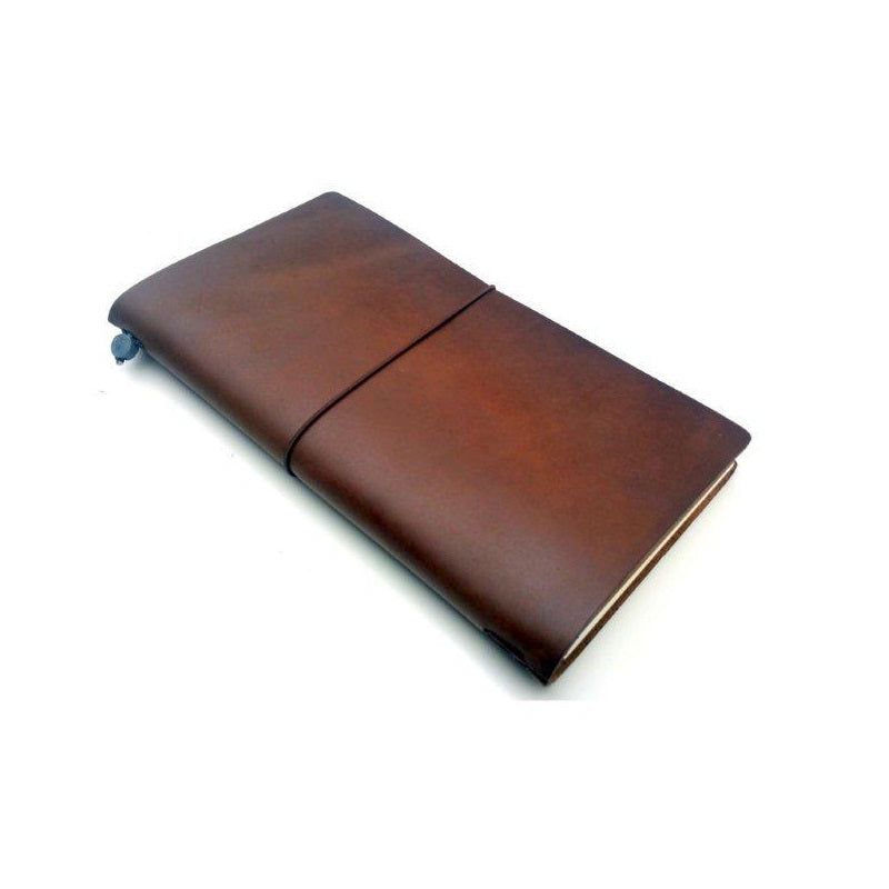 York Handmade Leather Refillable Journal - The Leather Trading Co.
