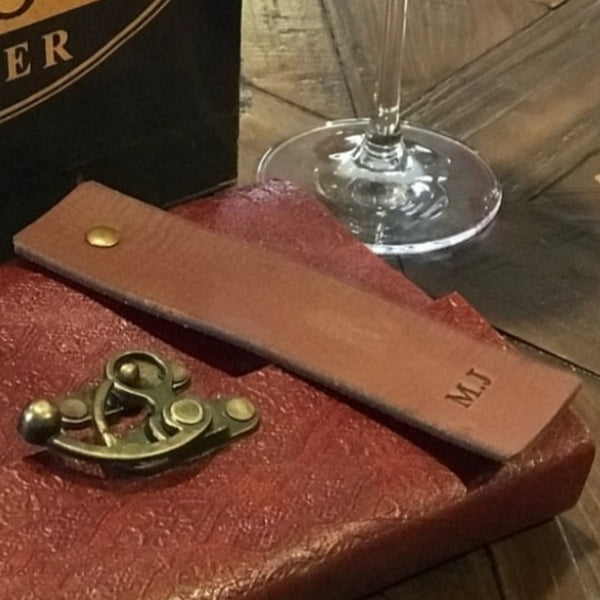 Buffalo Leather Bookmark - The Leather Trading Co.