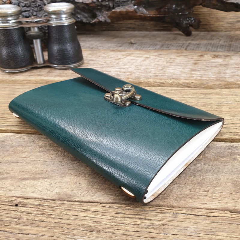 "The ""Notebook"" Australian Made refillable journal - The Leather Trading Co."