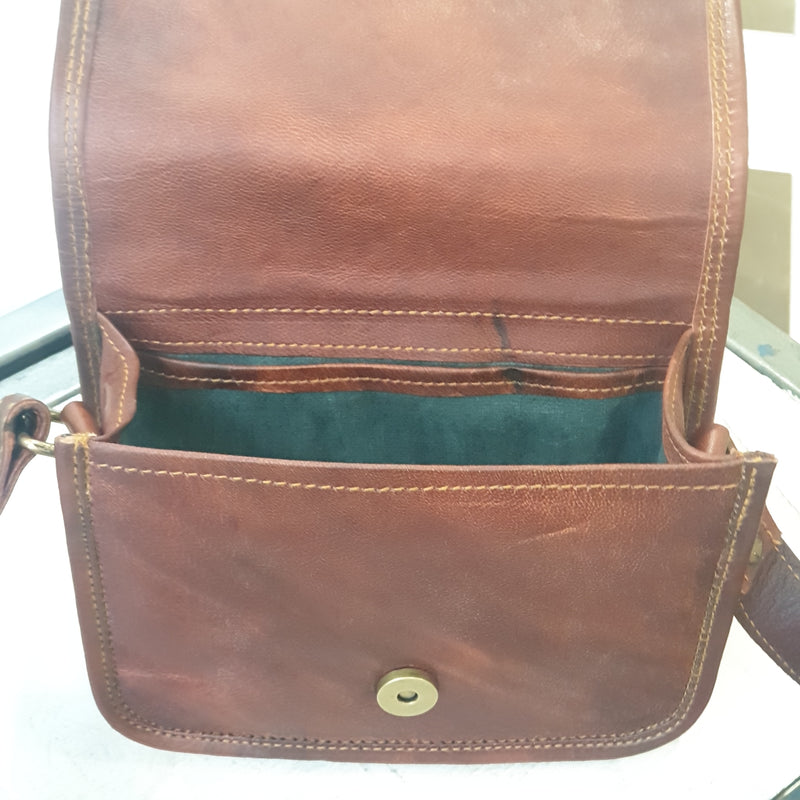 "The Post 7"" Leather Everyday Carry Bag"