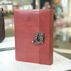 Saddler Handmade Leather Lock Journal