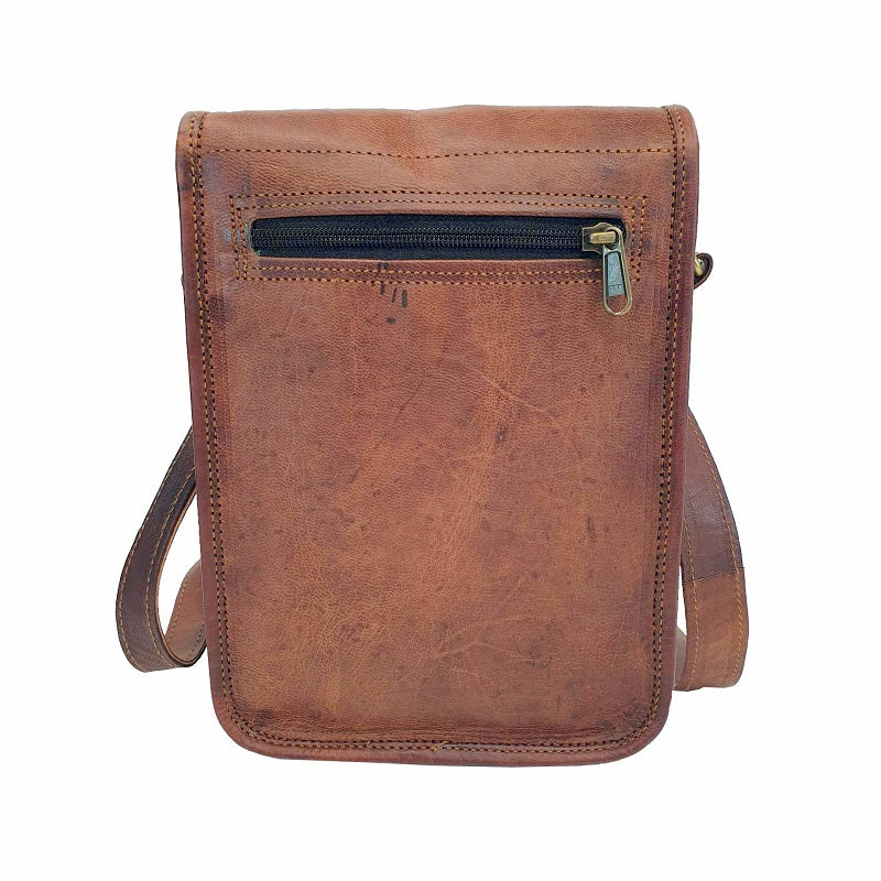 "Transit 11"" Postal Bag - The Leather Trading Co."