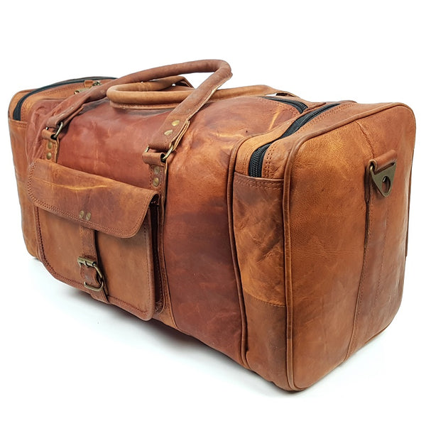 Crusader Carry-on Leather Travel Bag