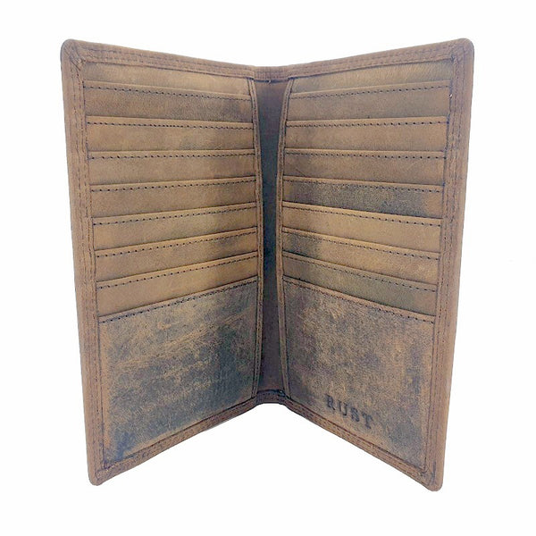 Porter - Buffalo Travel Card Leather Wallet - The Leather Trading Co.