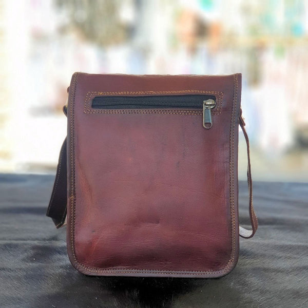 "Ranger 9"" Leather Field Bag"