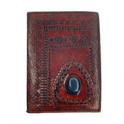 Empress Medium Hardcover Lapis Lazuli Stone Journal - The Leather Trading Co.