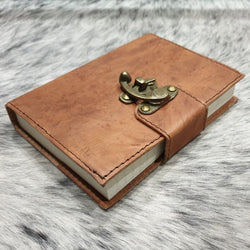 Ark 1 Handmade Leather Travel Journal - The Leather Trading Co.