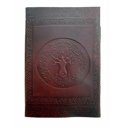 Folium Large Tree of Life Journal - The Leather Trading Co.