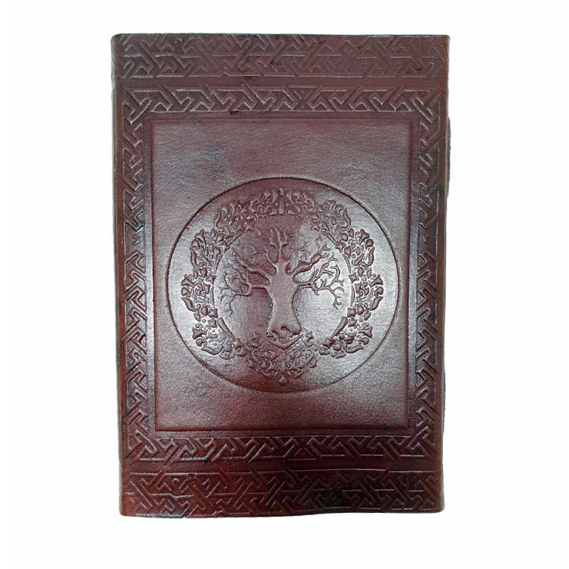 Folium Tree of Life Journal - The Leather Trading Co.