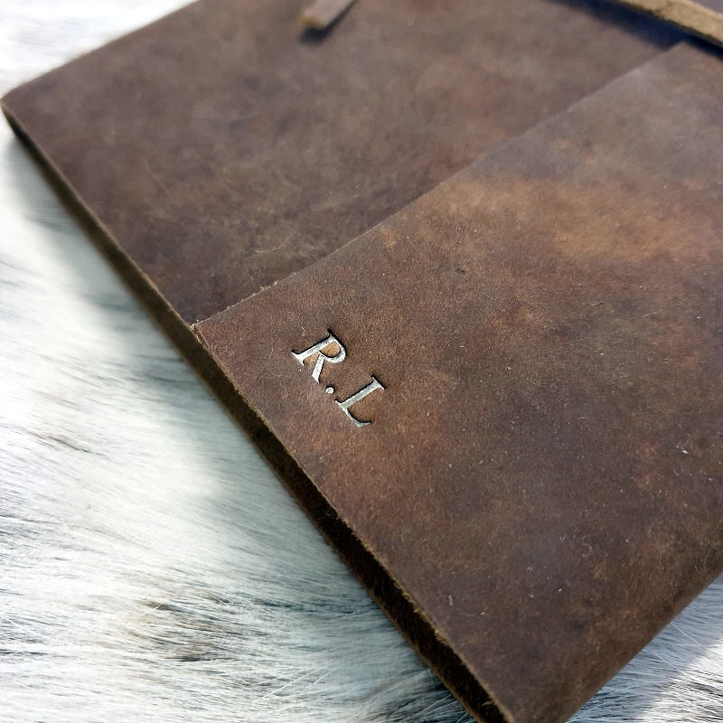 Leather Embossing - The Leather Trading Co.