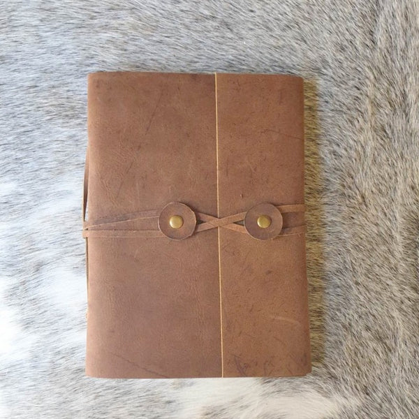 Ellora Folio Handmade Leather Journal