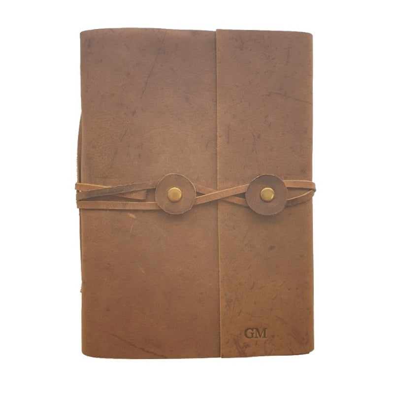 Ellora Folio Handmade Leather Journal - The Leather Trading Co.