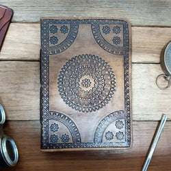 Amare Celtic Mandala Journal - The Leather Trading Co.