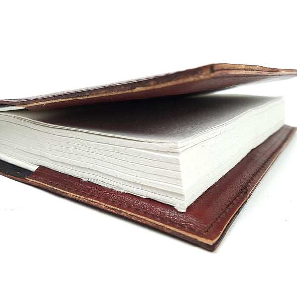 Dallas Large Hardcover Insert Leather Journal - The Leather Trading Co.