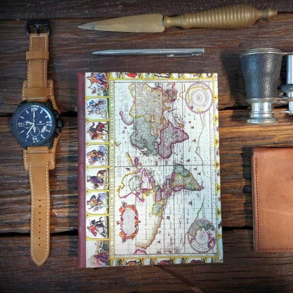 Atlas Handmade Travel Journal - The Leather Trading Co.