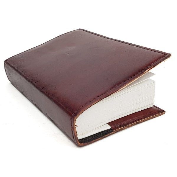 Dallas Medium Hardcover Insert Leather Journal - The Leather Trading Co.