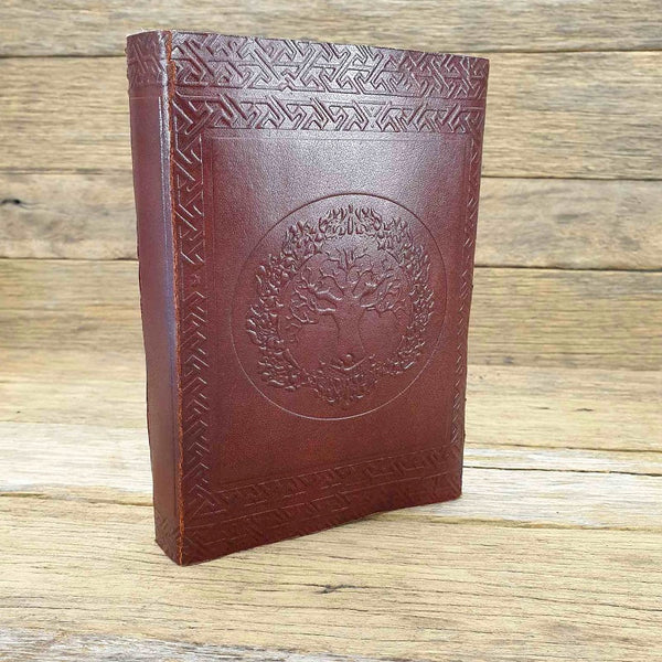 Folium Medium Tree of Life Journal - The Leather Trading Co.