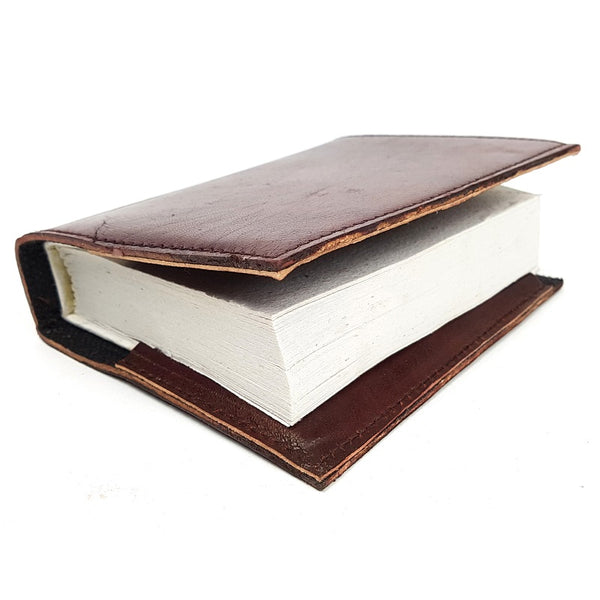 Dallas MS Hardcover Insert Leather Journal - The Leather Trading Co.