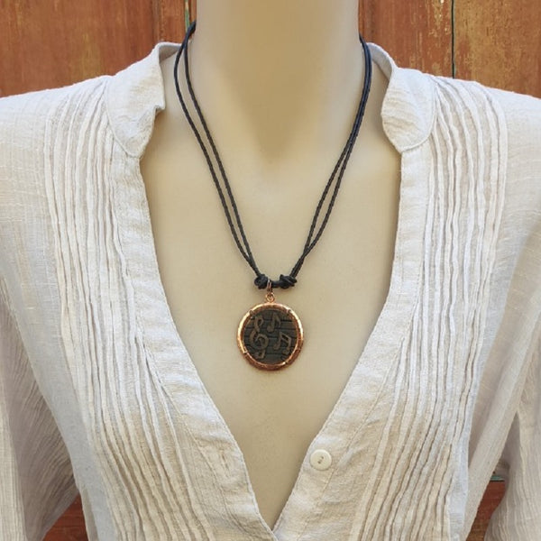 Melody Handmade Leather Necklace