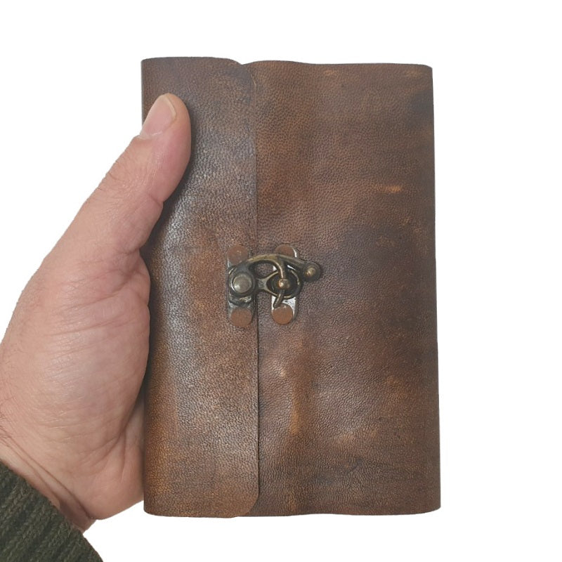 Gracili Leather Travel Journal - The Leather Trading Co.