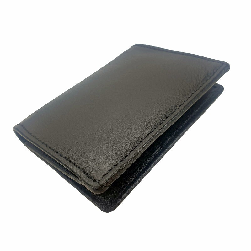 Herring - Black Cowhide Card Holder Leather Wallet - The Leather Trading Co.
