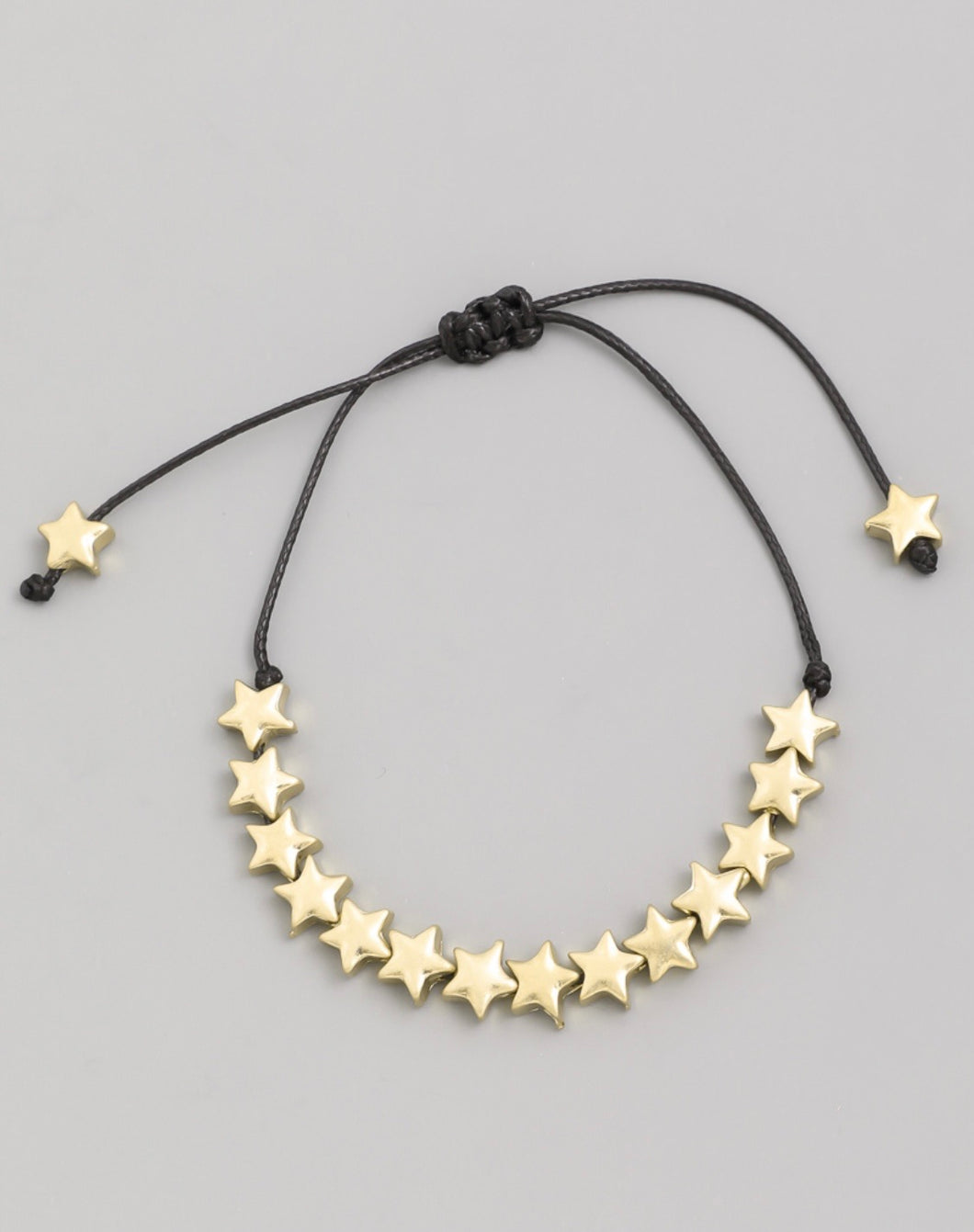 Multi Star Adjustable Bracelet