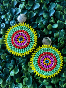 Mandala Native Yellow