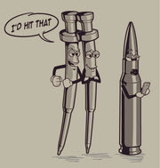 I'd Hit That! Firing Pin Looking at a Bullet T-Shirt