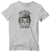 I Need Football Right Meow Unisex T-shirt