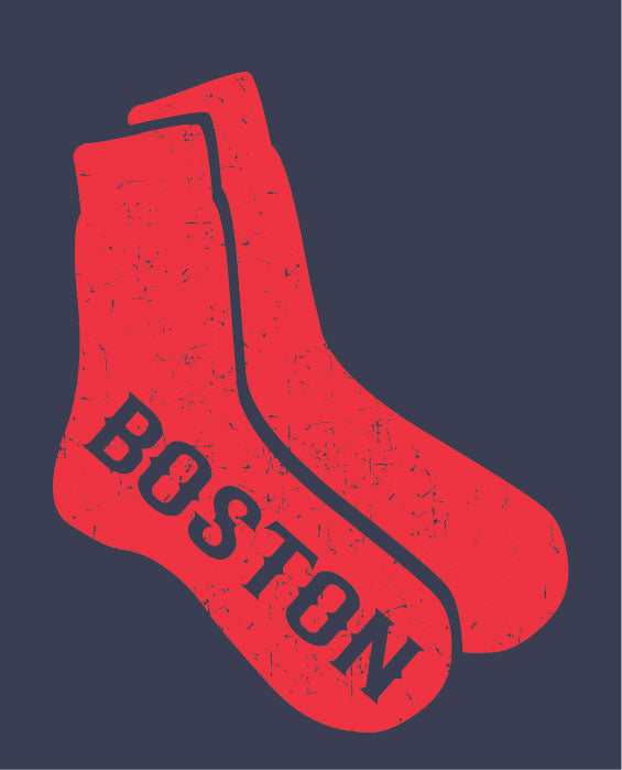 Red Socks Of Boston T-Shirt