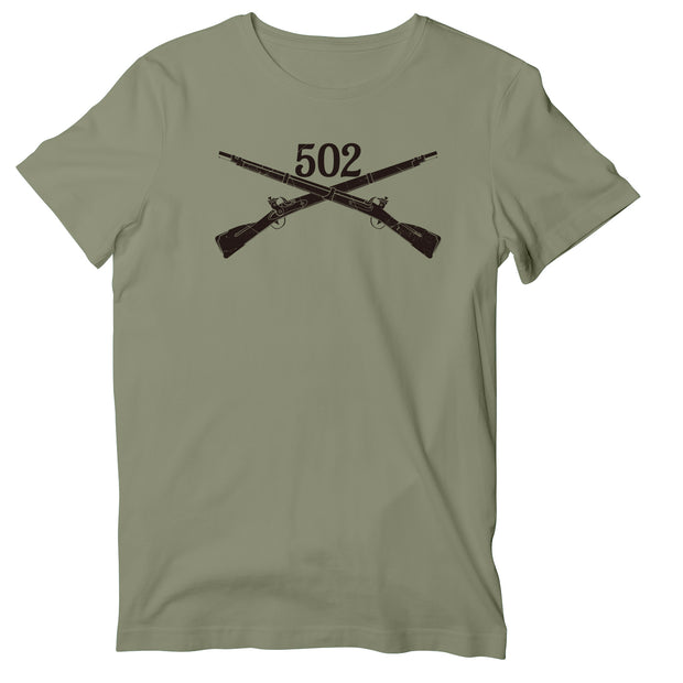 502nd Infantry Unisex T-Shirt