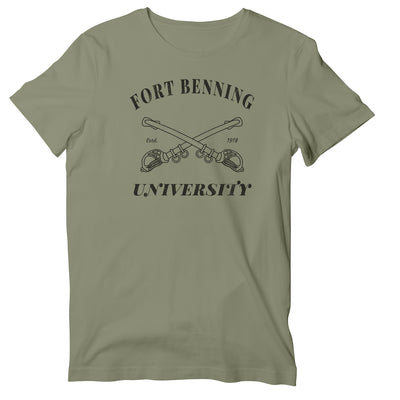 Cav Scout 19D Fort Benning University T-Shirt