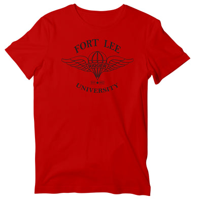 Fort Lee University Parachute Rigger 92R T-Shirt