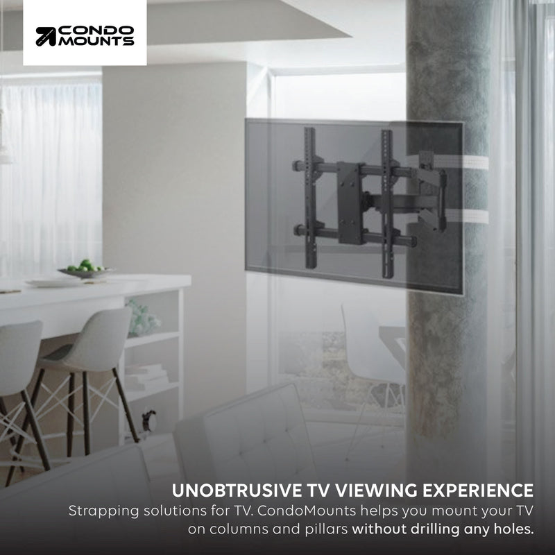 Pillar Mounted TVs Maximize Space, Comfort for Condo Dwellers