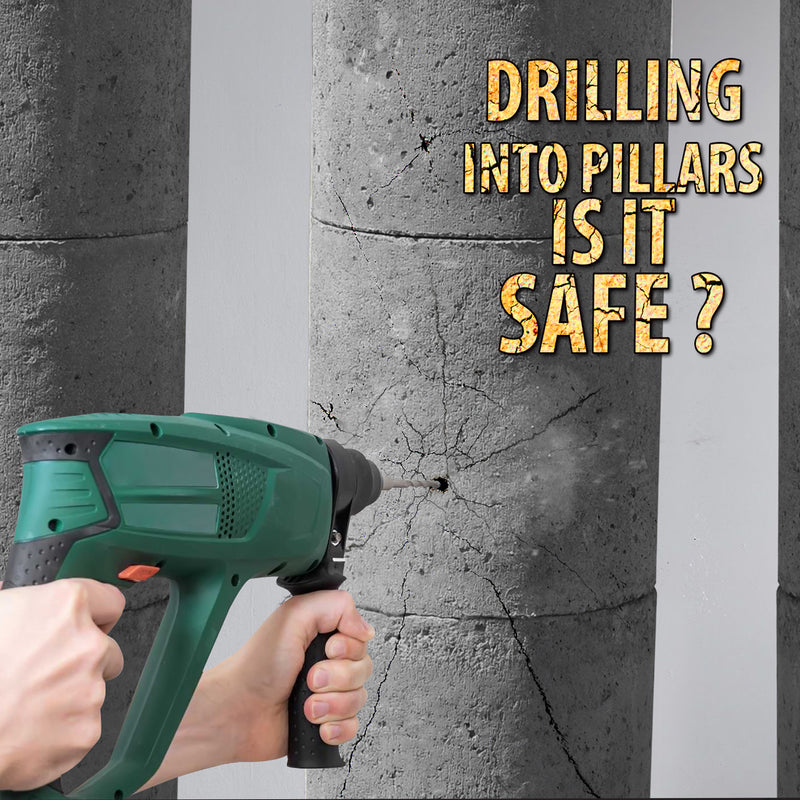Why Drilling into Concrete Pillars is Dangerous and Against Condo Association Policies