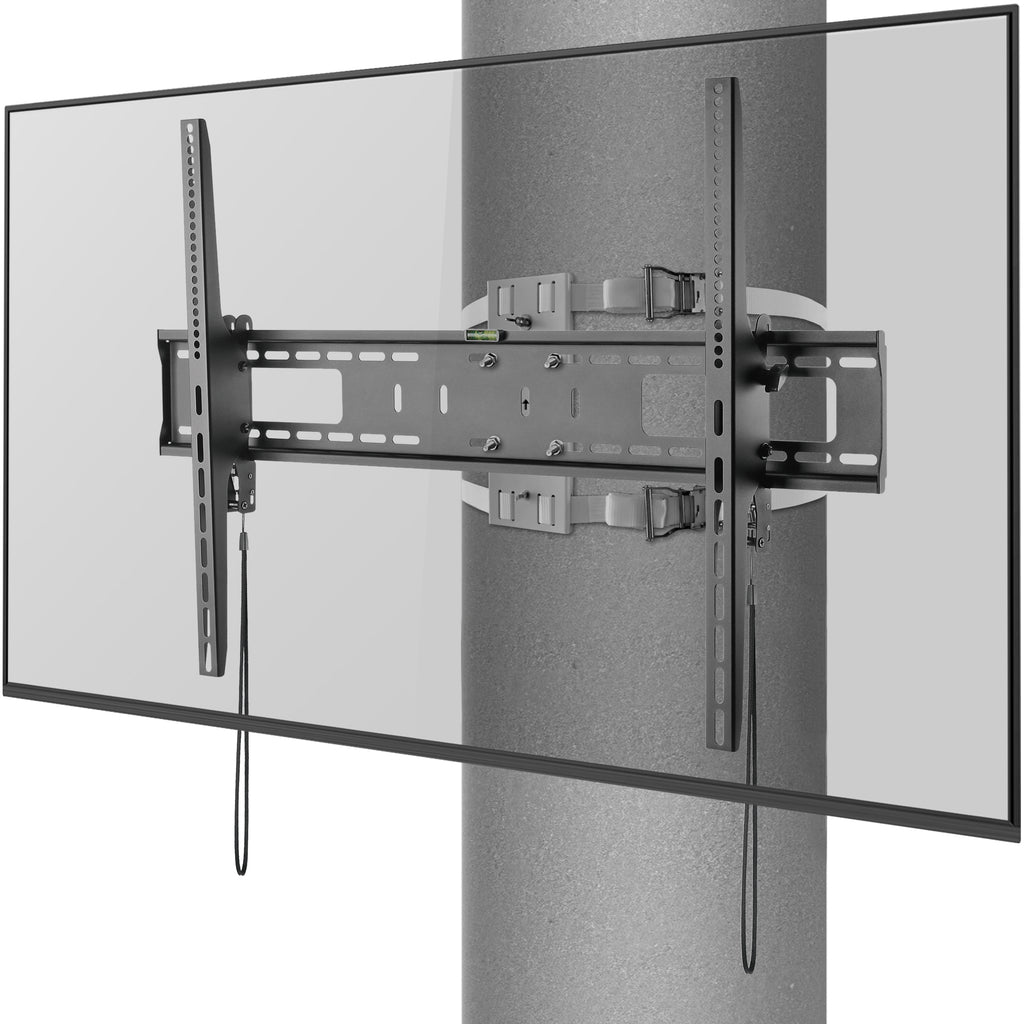 "Column Wrap Around Mount with Tilting Function. for TVs 60"" to 90"" Holds 120lbs. No Swivel."