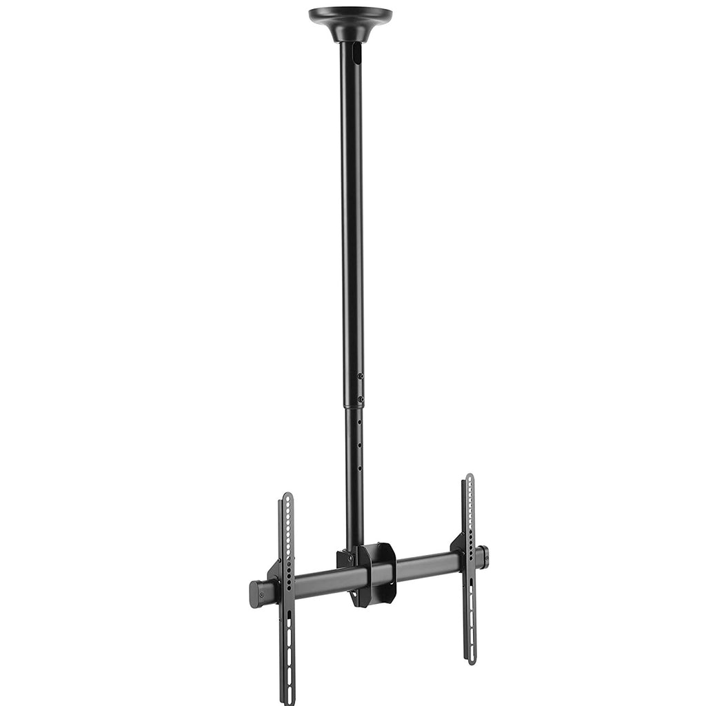 "Ceiling TV Mount - 42"" to 62"" Height Adjustable Pole Mount - Full Motion - Supports Displays 37"" to 70"" Upto 110lbs."