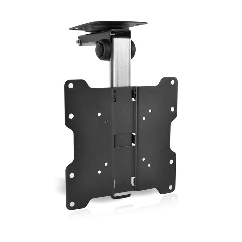 FOLD UP Ceiling TV Mount, for Flat Ceiling, Pitched Roof, Under Cabinet, RV drop down tv mount,  Corner Installations, Support Most 17''-37'' Monitors up to 20kgs/44lbs