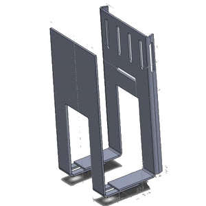 Column TV Mount - Pillar Mount - Strap Around for Cable Box or Game Console