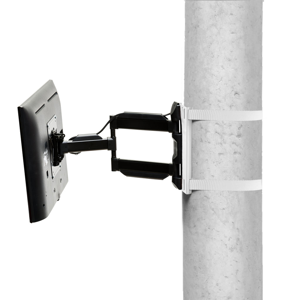 Condomounts Column TV Mount - Pillar TV Mount- Wrap Around Column TV Mount Bracket- No Drilling Required